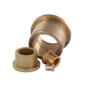 Oil filled flanged bronze bush