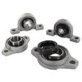 Aluminum housed bearing