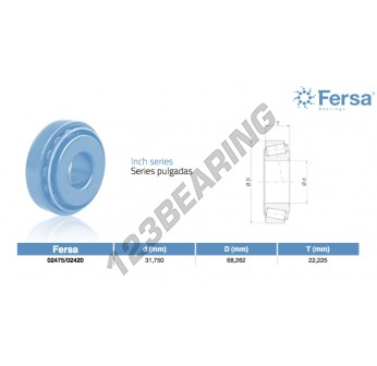 02475-02420-ASFERSA - 31.75x68.26x22.23 mm