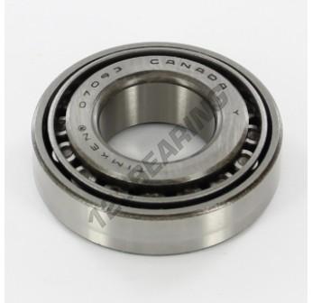 07093-07204-TIMKEN - 23.81x51.99x15.01 mm