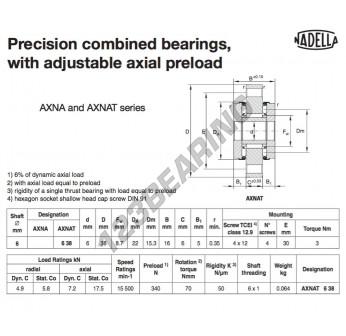 AXNAT638-NADELLA - 6x22x16 mm