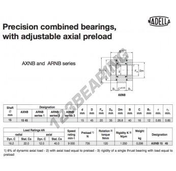AXNB1545-NADELLA - 15x35x40 mm