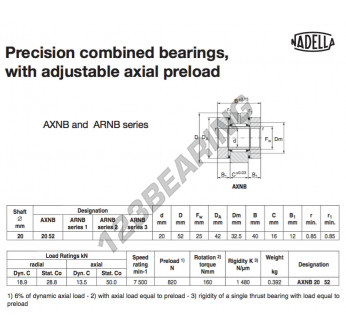 AXNB2052-NADELLA - 20x42x40 mm