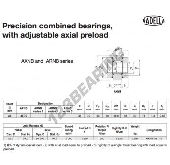 AXNB3570-NADELLA - 35x60x48 mm