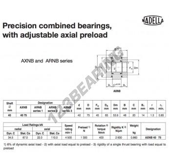 AXNB4075-NADELLA - 40x65x48 mm
