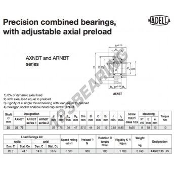 AXNBT2575-NADELLA - 25x47x44 mm