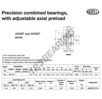 AXNBT50115-NADELLA - 50x78x54 mm