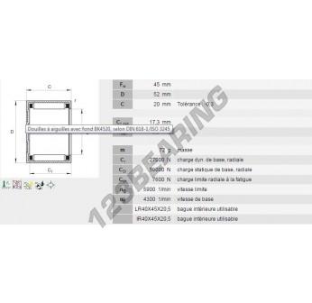 BK4520-INA - 45x52x20 mm