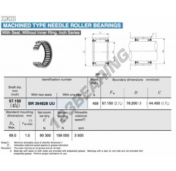 BR364828-UU-IKO - 57.15x76.2x44.45 mm