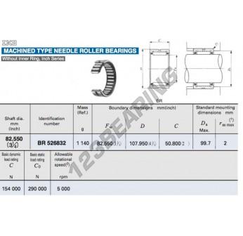 BR526832-IKO - 82.55x107.95x50.8 mm