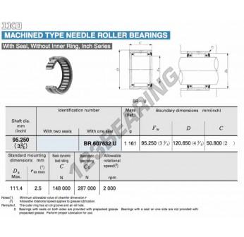 BR607632-U-IKO - 95.25x120.65x50.8 mm