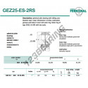 GEZ25-ES-2RS-DURBAL