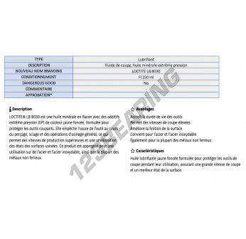 LB-8030-250ML-LOCTITE