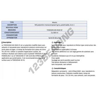 MS-9320-SF-GREY-300ML-TEROSON