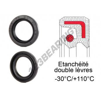 OAS-40X54X10-NBR - 40x54x10 mm